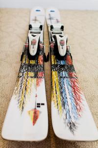 Line Sir Francis Bacon Ski Topsheet - Rear