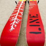 Bottom of Line Sir Francis Bacon Skis