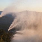snowmaking on T2
