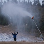 Sugarloaf Snowmaking in September
